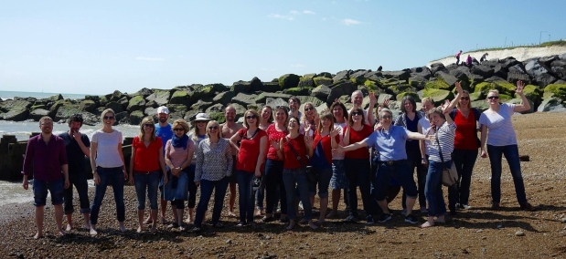 The Cambria Choir Coach Trip to Rottingdean