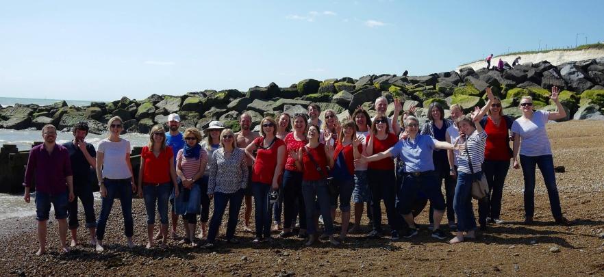 The Cambria Choir Coach Trip to Rottingdean